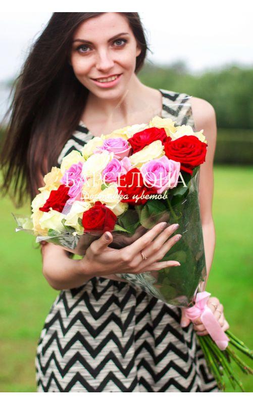 Mix 25 роз
