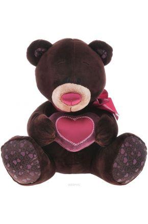 Медведь с сердцем (мальчик) 50 см.