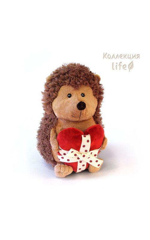Ёжик Колюнчик с сердечком 22 см.