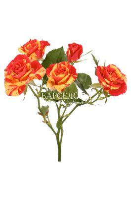 Кустовая роза Фаер Флеш