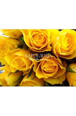 Желтая роза (Кения)