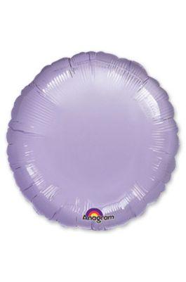 Шарик круг фиолетовый
