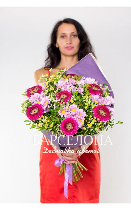 Букет purple №1