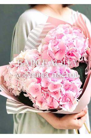 Букет из 3 розовых готензий